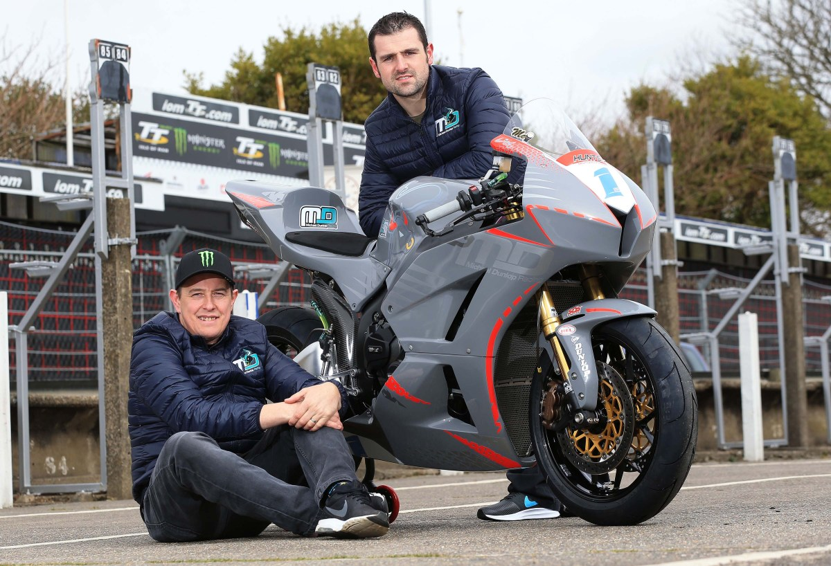 John McGuinness Joins Supersport Forces with Michael Dunlop for This Year's Isle of Man TT